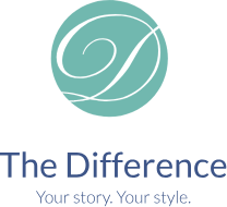 The Difference Logo vertical logo