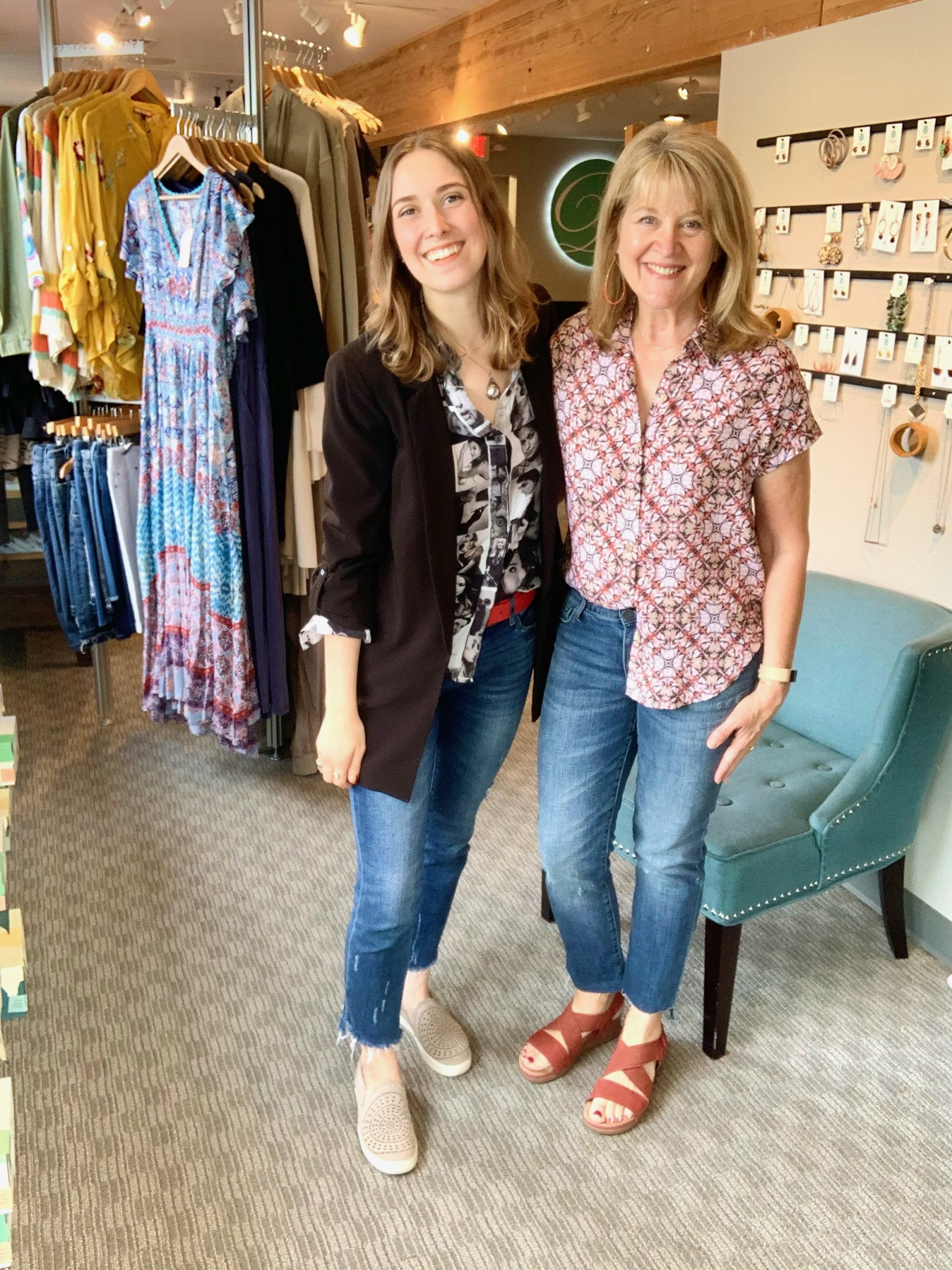 Personal Stylist, Nicole Cameron and Client